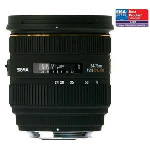 Photo of Sigma 24-70MM F2.8 EX DG HSM (Canon Fit) Lens