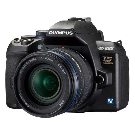 Olympus E-620 with 14-42mm lens