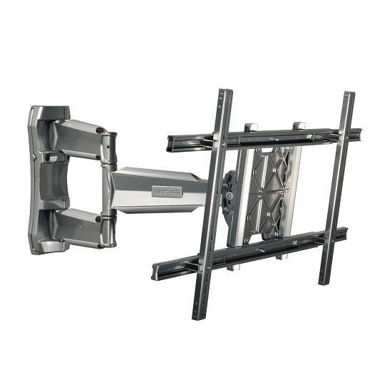 """Peerless SmartMount SWS350-SI Large Universal Articulated LCD / Plasma Wall Bracket - Max Weight 41kg, 32"""" to 52"""", Silver"""
