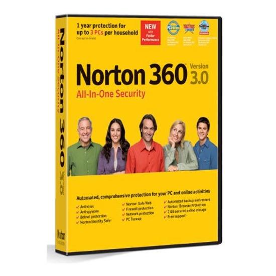 Symantec Norton 360 Version 3 0 All-in-one Security Reviews