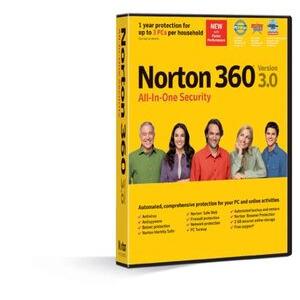 Photo of Symantec Norton 360 3.0 Software
