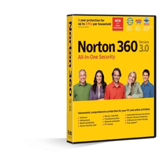 Symantec Norton 360 3.0