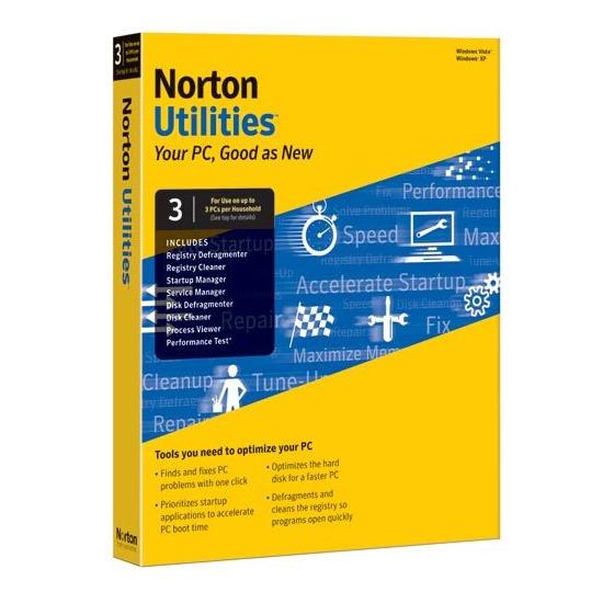 Norton Utilities Anti-Virus & Security Software (upto 3 PCs)