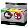 Photo of Lexmark No. 4XL & 5XL Ink Cartridge