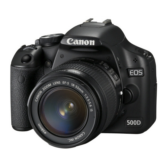 Canon EOS 500D with 18-55mm IS and Tamron AF18-200mm lenses