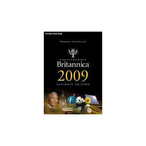 Photo of Encyclopedia Britannica 2009 Ultimate Edition Software