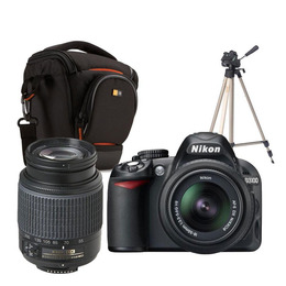 Nikon D3100 with 18-55mm and 55-200mm Lens kit Reviews