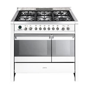 Photo of Smeg A2WH-6 Dual Fuel Cooker
