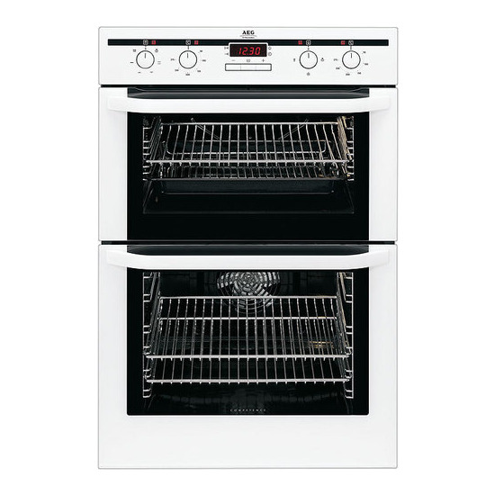 AEG D31016W Electric Double Oven
