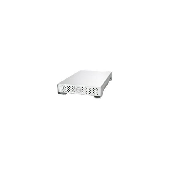 """G-Tech G-DRIVE mini Triple - Hard drive - 500 GB - external - 2.5"""" - FireWire / FireWire 800 / Hi-Speed USB - 5400 rpm - buffer: 8 MB"""