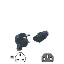 Computer Gear - Power cable - BS 1363 (M) Reviews