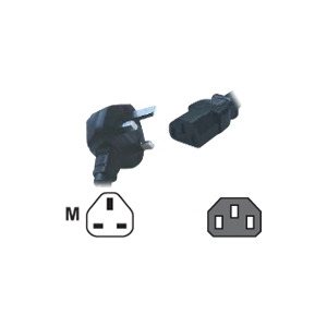 Photo of Computer Gear - Power Cable - BS 1363 (m) Adaptors and Cable