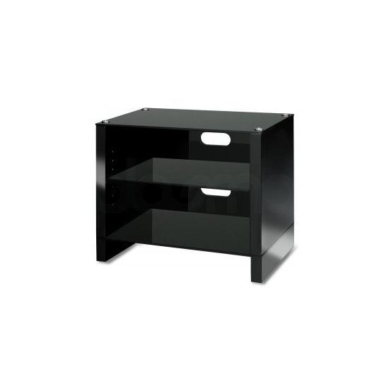 Abavos Stax 3 Shelf Black Tv Stand