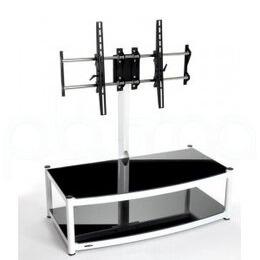 Atacama Cantilever 2 Shelf TV Stand - White and Black Reviews