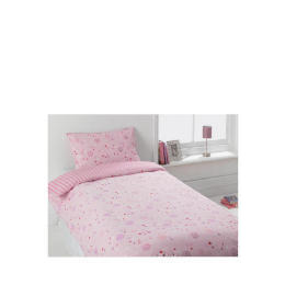 Tesco Kids Funky Spots Pink Single Duvet Reviews