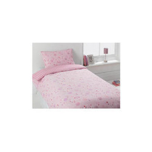 Photo of Tesco Kids Funky Spots Pink Single Duvet Bed Linen