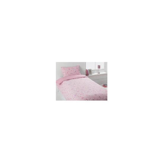 Tesco Kids Funky Spots Pink Single Duvet