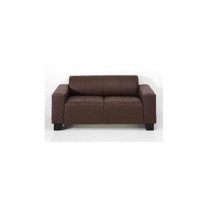 Photo of Studio Leather Sofa, Brown Furniture