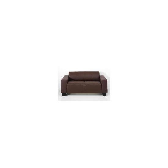 Studio Leather Sofa, Brown