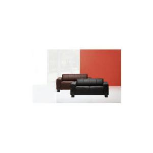 Photo of Studio Leather Sofa, Black Furniture