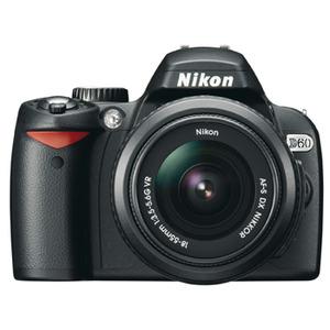 Photo of Nikon D60 With AF-S DX Nikkor VR 18-55MM F/3.5-5.6G Lens Digital Camera