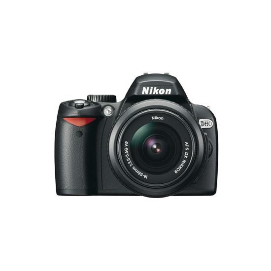 Nikon D60 with AF-S DX Nikkor VR 18-55mm f/3.5-5.6G Lens