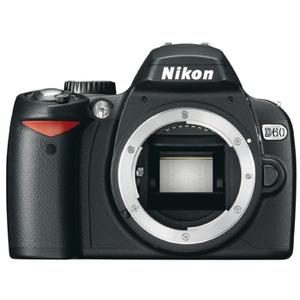 Photo of Nikon D60 With AF-S DX VR 55-200MM Lens Digital Camera