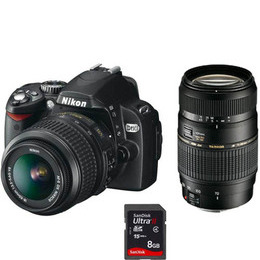 Nikon D60 with 18-55mm VR and Tamron 70-300mm f4-5.6 DI lenses Reviews