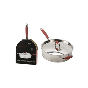 Photo of Hells Kitchen 24CM Frying Pan With Lid Kitchen Utensil