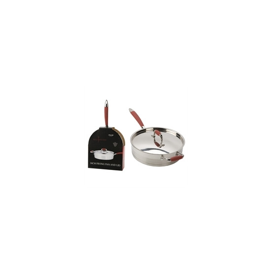 Hells Kitchen 24cm Frying Pan with Lid