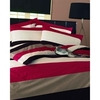 Photo of Frazer Red Quilt Cover Set King Size Bed Linen