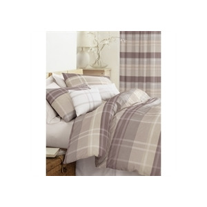Photo of Glencoe Chocolate Quilt Cover Set - Double Bed Linen