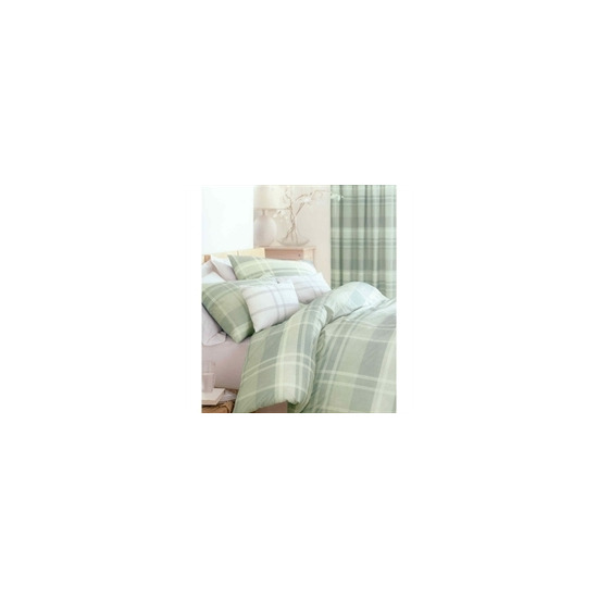 Glencoe Green Quilt Cover Set Double