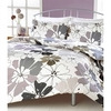 Photo of Rania Grey Quilt Cover Set Double Bed Linen