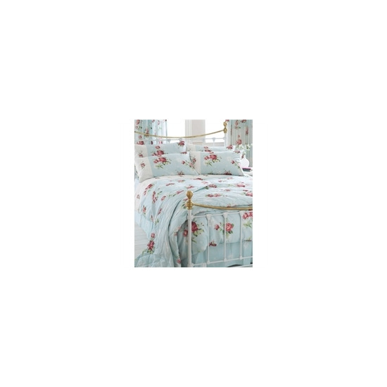 Stratford Duck Egg Quilt Cover Set Double