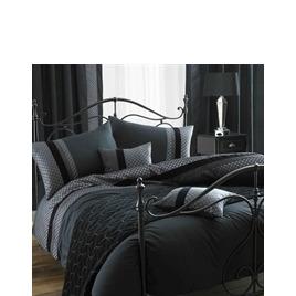 Blythe Black Quilt Cover Set King Size Reviews