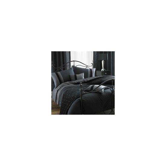 Blythe Black Quilt Cover Set King Size