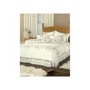 Photo of Misha Natural Quilt Cover Set Super King Size Bed Linen