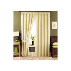 Photo of Appleby Cream Lined Curtains 229X183CM Curtain