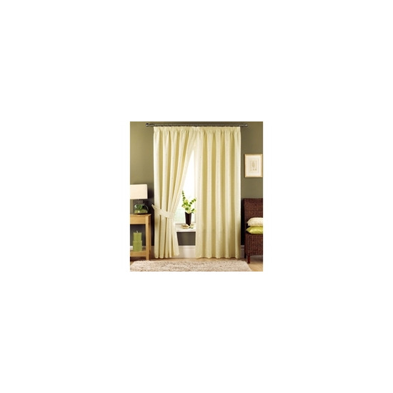 Appleby Cream Lined Curtains 229x183cm
