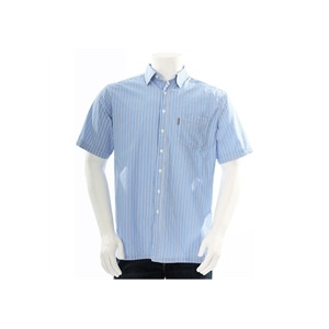 Photo of One True Saxon Shirt Blue Stripe Shirt