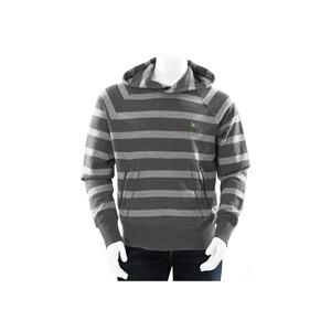 Photo of One True Saxon Stripe Hoodie Grey Tops Man