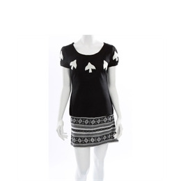 Yumi Black Jaquard Knitted Dress Reviews