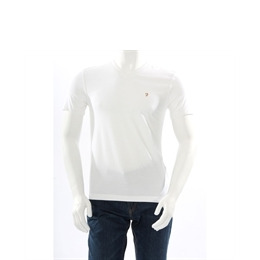 Farah Vintage V Neck T Shirt White Reviews