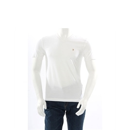 Farah Vintage V Neck T Shirt White Reviews