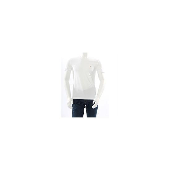 Farah Vintage V Neck T Shirt White