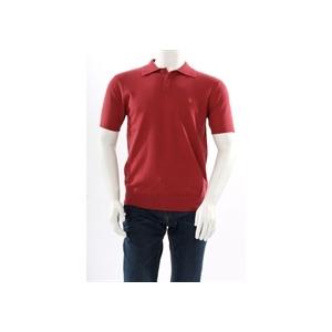 Photo of Farah Vintage Knowles Cotton Cashmere Polo Blush T Shirts Man