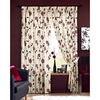 Photo of Rosemont Red Lined 1/2 Panama Curtains 168X137CM Curtain