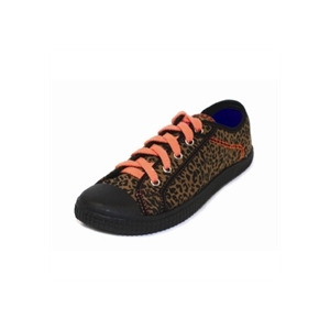 Photo of Rocket Dog Leopard Print Lace Ups Trainers Girl