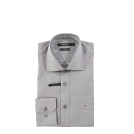 Melka Semi-cutaway Single Cuff Twill Shirt - Black Reviews